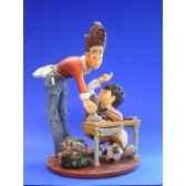 figurine metier par profisti la maitresse pro02