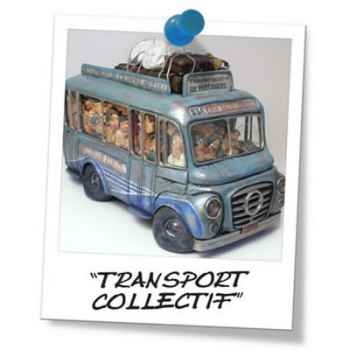 Figurine Forchino - Transport collectif - 32 cm - FO85046