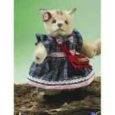 miniature fille chat debout hermann spielwaren 22081 5