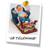 figurine forchino le telephage fo85506