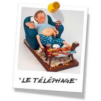 Figurine Forchino - Le téléphage - FO85506