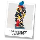 figurine forchino le sapeur pompier fo85505