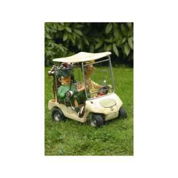 Figurine Forchino - Le prochain trou - 20 cm voiture beige - FO85035