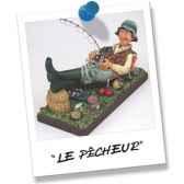 figurine forchino le pecheur fo85503