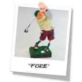 figurine forchino le golfeur fo85504