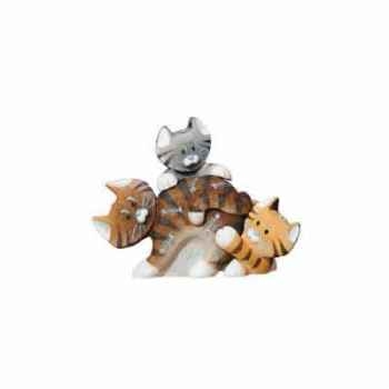 Figurine Farmyard Fun - Bones - Biggles - Buster - CT12BR-CT12GY-CT09LB