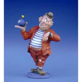 Figurine Dubout - Saradra l'heure du crime - DUB06