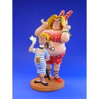 Figurine Dubout - Allez mon baigneur - DUB08