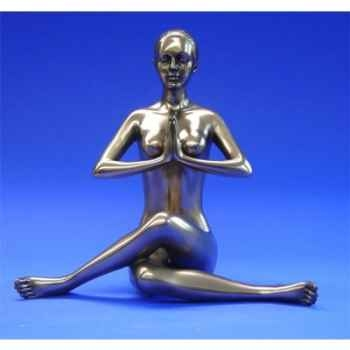 Figurine Body Talk - Femme bronze Salutation seal - WU72380