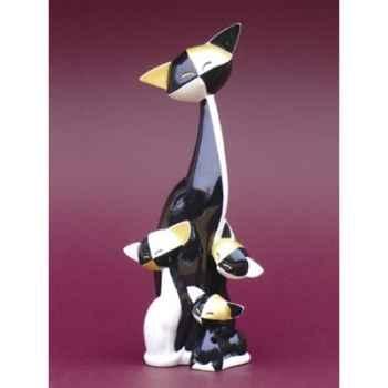 Figurine Le Chat Quincy et Quinta - Quiana - Questa W, - GW02