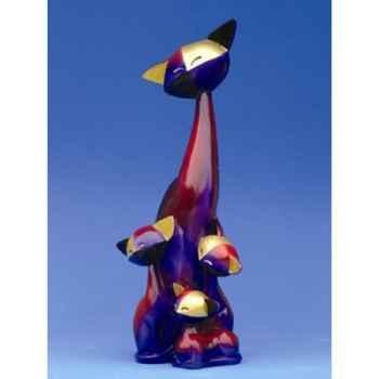 Figurine Le Chat Quincy et Quinta  - Quiana - Questa R, - QR02