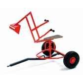 mini excavator rouge dino cars 0212