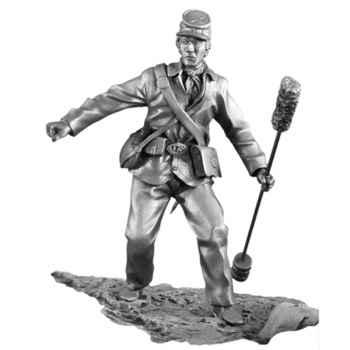 Figurines étains Ecouvillonneur -GS005