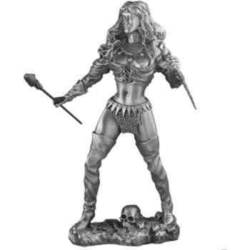 Figurines étains La féline -FA003