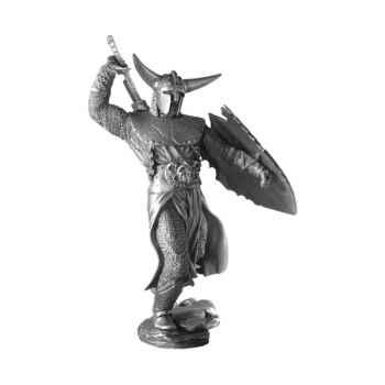 Figurines étains Le chevalier noir -FA008