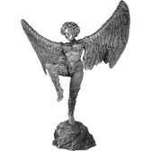 figurines etains la femme oiseau fa009