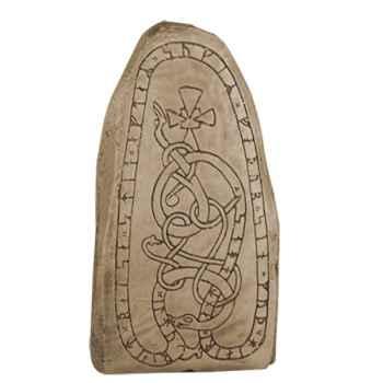 Figurines étains Pierre runique -GA056