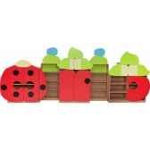 coccinelles ensemble couleurs pastenovum 4520850
