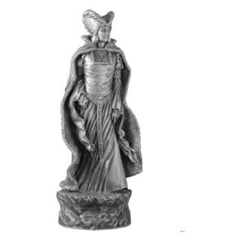 Figurines étains Pièce échiquier Reine Guenièvre -CE002