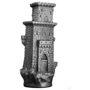 Figurines étains Pièce échiquier Tour carree -CE005