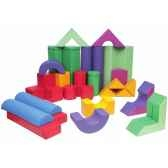 grand ensemble de cubes en mousse novum 4528500
