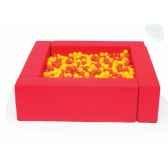 piscine a balles rouge novum 4529008