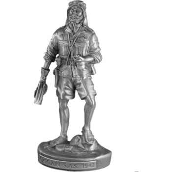 Figurines étains Capitaine sas -MI006