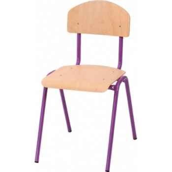 Chaise novum, 38 cm, violet -4413806