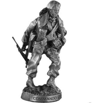 Figurines étains Commando kieffer -MI015