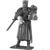 figurines etains chevalier de la table ronde kay et siege tr013