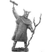 figurines etains le puissant dieu thor ma022