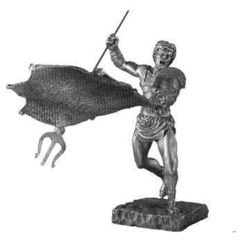 Figurines étains Le retiaire -MA058