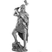 figurines etains guerrier viking ma009