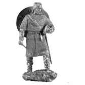 figurines etains chef viking ma046