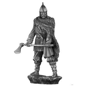 Figurines étains Chef de guerre viking -MA069