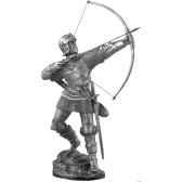 figurines etains archer anglais ma038