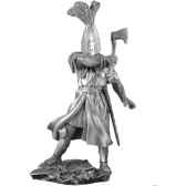 figurines etains chevalier du xiiieme ma057