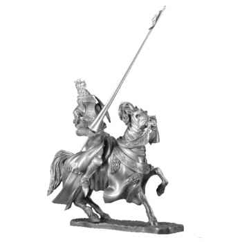 Figurines étains Tournoi - le vainqueur -MA062