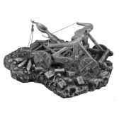 figurines etains machine de guerre avec base ma074