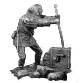 figurines etains machiniste ma076