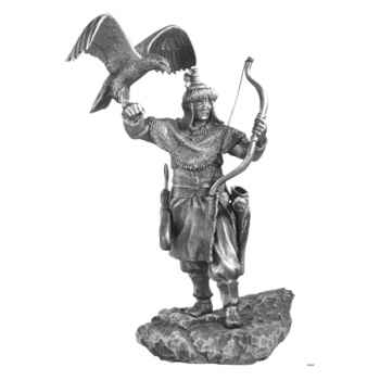 Figurines étains Archer mongol -MA083