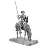 figurines etains don quichotte ma084
