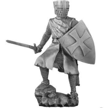 Figurines étains Ordre des hospitaliers -MA024