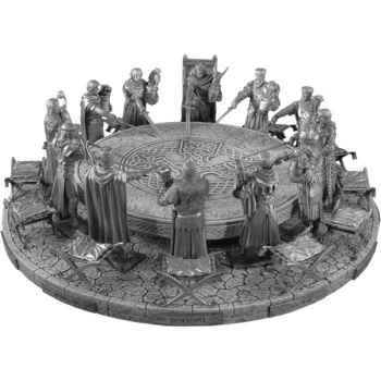 Figurines étains Les 12 chevaliers de la table ronde -VETR