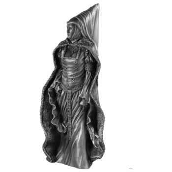 Figurines étains Reine Guenièvre -AD002