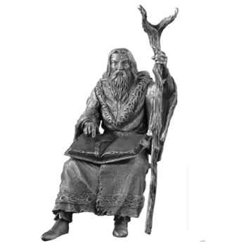 Figurines étains Merlin -AD003
