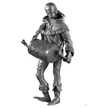 Figurines étains Troubadour -AD004