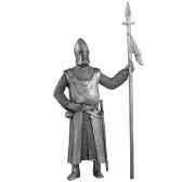 figurines etains garde royagauche ad008