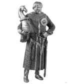 figurines etains chevalier hector ad013