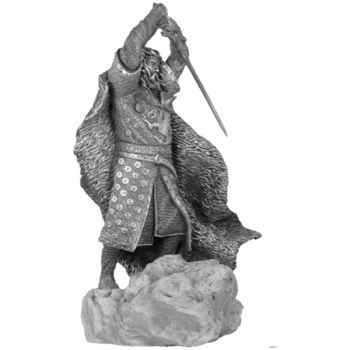 Figurines étains Uther pendragon -MA073